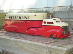 1950's Beautiful Custom Wyandotte Semi Truck. Absolutely Gorgeous!!