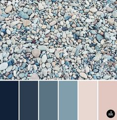 blue color palette for bedroom a rock inspired color palette navy indigo ocean blue peach nude pink master bedroom to match painting grey blue colour scheme bedroom Nature Color Palette, Blue Colour Palette, Blue Color Schemes, Bedroom Color Schemes, Bedroom Colors, Color Combos, Apartment Color Schemes, Blue Color Pallet, Beach Color Palettes
