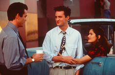 So were the sets of movie and television shows. | 17 Photos That Will Make You Fall In Love With Young Matthew Perry