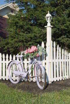 Flower Baskets On Bikes On Pinterest Bicycles Bicycle