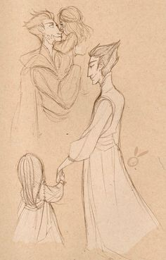two sketches of General Kozmotis Pitchiner and his daughter from William Joyce's Guardians of Childhood books. William Joyce, Guardians Of Childhood, Frozen And Tangled, Space Pirate, Rise Of The Guardians, The Big Four, Cute Disney, Disney And Dreamworks, Jack Frost