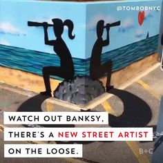 Watch out Banksy, there's a new street artist on the loose named Tom Bob who turns ordinary objects into works of art.