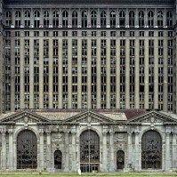 Las ruinas de Detroit, una ciudad casi fantasma