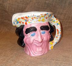 Pitcher, handmade, hand glazed, one of a kind in color & made in america. etsy.com/shop/grandmasmagick