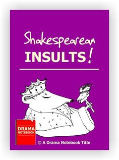 Hilarious printable list that gives students the ability to lob funny, brilliant insults at each other. Includes instructions for the lesson. Shakespeare Insults, Middle Schoolers, Hilarious, Funny, Lob, Lesson Plans, Curriculum, Teen, Printables