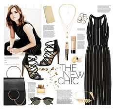 """""""The new chic"""" by cassy-style ❤ liked on Polyvore featuring New Look, ALDO, Cara, Ray-Ban, Burberry, Bobbi Brown Cosmetics, L'Oréal Paris and Yves Saint Laurent"""