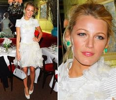 Blake Lively in Stunning Emeralds
