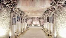 Ideas Wedding Reception Entrance Ideas Pathways For 2019 Wedding Ceremony Ideas, Wedding Reception Entrance, Ceremony Dresses, Wedding Reception Decorations, Wedding Party Dresses, Party Wedding, Wedding Ballroom Decor, Wedding Cars, Wedding Receptions