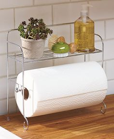 Countertop Shelf & Paper Towel Holders