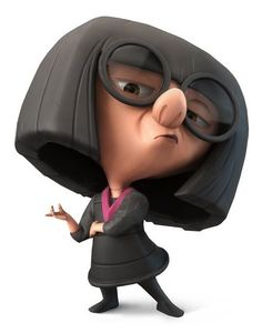 Edna Mode Walt Disney Characters, Disney Pixar, Cartoon Characters, Infinity Art, Disney Infinity, Disney Day, Disney Love, The Incredibles 2004, Disney Incredibles
