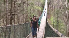 Did you know America's longest  swinging bridge is right here in East Tennessee? Put on your hiking shoes with Alan Williams  to find out.