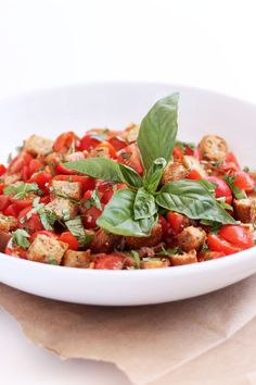 A CUP OF JO: The Best Panzanella You'll Ever Have. - something for our tomato harvest