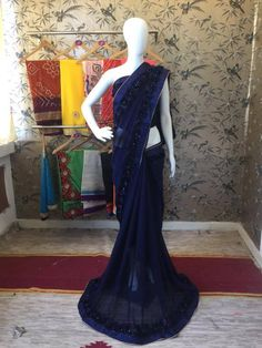 BOLLYWOOD INDIAN ETHNIC DESIGNER SAREE PAKISTANI PARTYWEAR GEORGETTE SARI 316 #ethnicitybynupur #sariSAREE  contact 8588962457