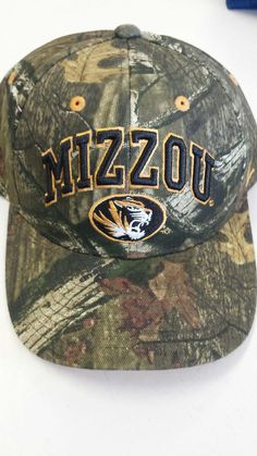 on sale c320d 8c10b Missouri Tigers Snapback Adjustable Mossy Oak Camouflage Hat by Zephyr www. shopmosports.com