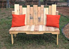 10 Awesome Outdoor Bench Projects