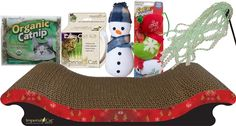 #Gifts for Cats : Deluxe #Holiday Gift Set for Cats | #ModernStylePet.com   $34.94