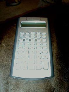Calculator Texas instruments BA II plus financial #TexasInstruments