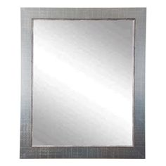 Silver Lined Vanity Mirror