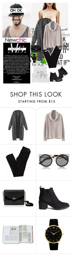 """Newchic"" by fashion-in-poly ❤ liked on Polyvore featuring Whiteley, KEEP ME, Ødd., American Eagle Outfitters, Erdem, Kate Spade, H&M and Larsson & Jennings"