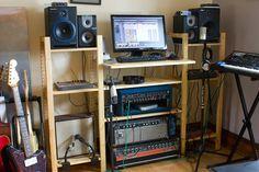 Ikea music studio