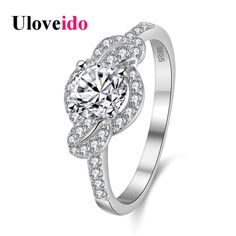 Find More Rings Information about Uloveido Wedding Rings for Women Silver Ring Marriage Bijouterie Vintage Anel Sale Anillos Mujer Bijoux * Gifts Kpop Aneis WX011,High Quality ring 21,China ring sling Suppliers, Cheap ring belt from Uloveido Official Store on Aliexpress.com