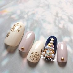 Фотография in 2020 Halloween Acrylic Nails, Xmas Nails, Cute Christmas Nails, Summer Acrylic Nails, Christmas Nail Art, Christmas Nail Designs, Holiday Nails, Christmas Christmas, New Years Nail Designs