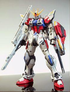 MG 1/100 Star Build Strike Gundam + Universe Booster - Customized Build