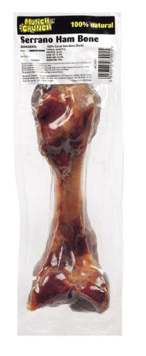 Munch and Crunch - Serrano Ham Bone * Want to know more, click on the image. (This is an affiliate link) #DogTreats