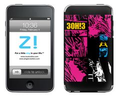 3OH!3 Forrest Pieces iphone skin #3OH!3