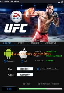 DOWNLOAD: http://cheats-game.info/ea-sports-ufc-hack-androidios/