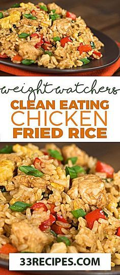 Feb 20 2020 - Clean Eating Chicken Fried Rice come with 6 Weight watchers Smart . - Feb 20 2020 – Clean Eating Chicken Fried Rice come with 6 Weight watchers Smart Points # - Clean Eating Chicken, Clean Eating Diet, Clean Eating Recipes, Healthy Eating, Eating Vegan, Vegan Food, Healthy Food, Eating Habits, Healthy Cooking