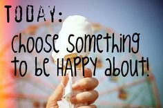 Come On let's get happy!