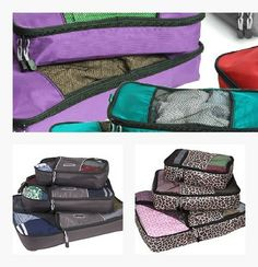Favorite Packing Cubes Colors