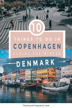 Visiting Copenhagen this winter? Looking for what to do in the winter months? This post explores 10 amazing things to do in this Danish city. From Nyhavn to Tivoli Gardens Christmas Markets to The Little Mermaid statue, Denmark is a great place to travel from November to March. Make sure to embrace the Danish lifestyle trend of hygge, while taking in the danish Christmas traditions. #travel #copenhagen #winter #denmark | photography | denmark travel | danish design Denmark Europe, Denmark Travel, Great Places To Travel, Cool Places To Visit, Christmas Markets, Christmas Traditions, Europe Travel Guide, Travel Destinations, Mermaid Statue