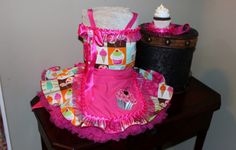 Cupcake Pageant OOC OOAK Custom made Dress. $100.00, via Etsy.