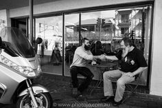 As we waited his beard was quite the conversation starter. A fellow bearded man sat down for a chat - purely in bewhiskered kinship.