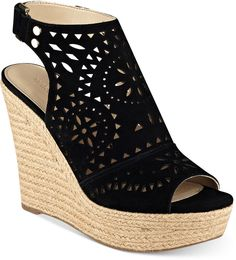 Super cute shoes!  Marc Fisher Harlea Platform Wedge Sandals