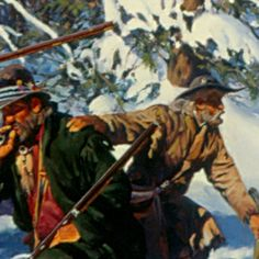 """""""Call of the Wild"""" Welcome to Gary Carter's Official Web Site Early American, American Art, Gary Carter, Longhunter, Call Of The Wild, Le Far West, Mountain Man, Artist Gallery, Bushcraft"""