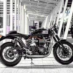 combustible-contraptions: Triumph Cafe Style
