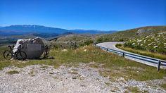 Castel del Monte - Parco nazionale del Gran Sasso e Monti della Laga (AQ) #rtb #bicicletta #bicycle #ciclismo #cycling