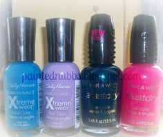 SH Blue Me Away & Lacey Lilac  WnW Teal Of Fortune & How I Met You Magenta