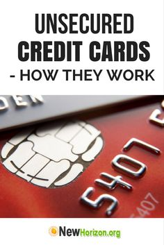 are there unsecured credit cards for bad credit
