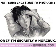 Honestly, I'd prefer to be a horcrux