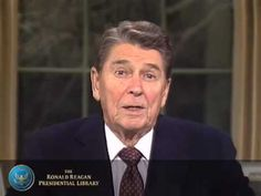 Farewell Speech - President Reagan's Farewell Speech from the Oval Office  1/11/89.  Giving thanks to the American people for their participation in the change