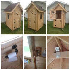 Build Your Own Outhouse Kit