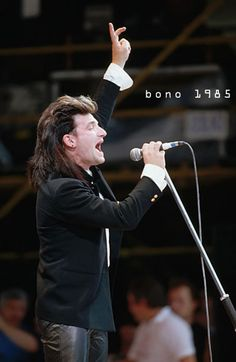 """Live My favorite performance - """"Bad"""" U2 Live, The Unforgettable Fire, Paul Hewson, Irish Rock, Bono U2, Live Aid, Those Were The Days, Rock Groups, Music Therapy"""