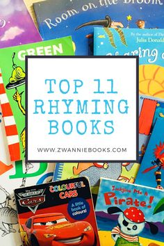 We've always loved reading books with a good funny rhyme, and over the years we've got some serious favourites. Today we'd like to share with you our Top 11 Rhyming Books that have been inspirational in where we are today. Love Reading, Over The Years, Books To Read, Author, Inspirational, Learning, Funny, Blog, Kids