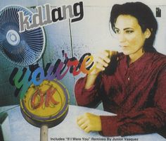 "For Sale - K.D. Lang You're Ok UK  CD single (CD5 / 5"") - See this and 250,000 other rare & vintage vinyl records, singles, LPs & CDs at http://eil.com"