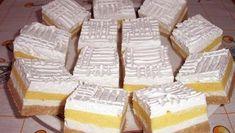 Pudingos-tejfölös szelet, aránylag olcsó, és karácsonyra is tökéletes - Blikk Rúzs Hungarian Desserts, Hungarian Cake, Romanian Desserts, Hungarian Recipes, No Bake Desserts, Delicious Desserts, Dessert Recipes, Sweet Cookies, Cake Cookies
