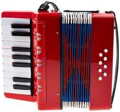 Classic Cantabile 37968 - acordeón para niños, 8 bajos, color rojo: Amazon.es: Instrumentos musicales Instruments, Abs, Classic, Music Instruments, Musicals, Red, Sheet Music, Musical Instruments, Derby